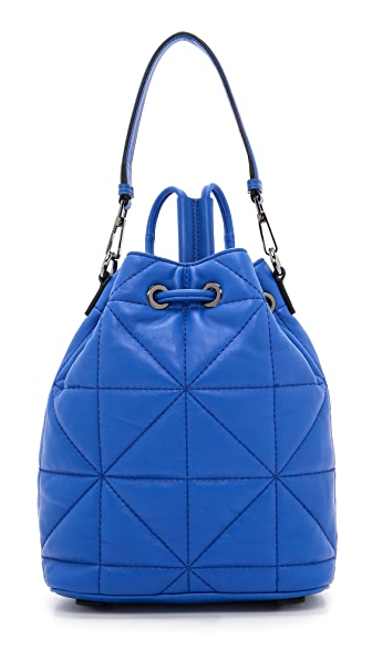 Milly Avery Convertible Backpack - French Blue