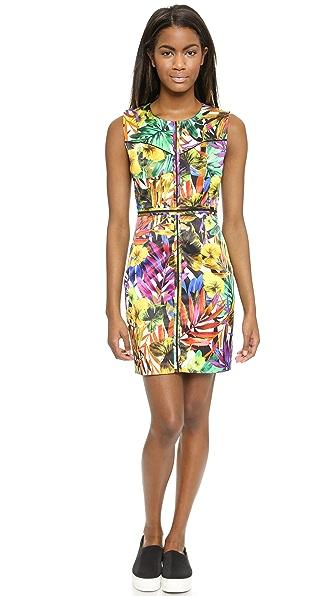 Kupi Milly haljinu online i raspordaja za kupiti Milly Tropical Print Angular Dress Multi online