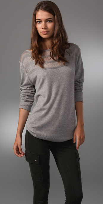 MINKPINK Threadbare Sweater