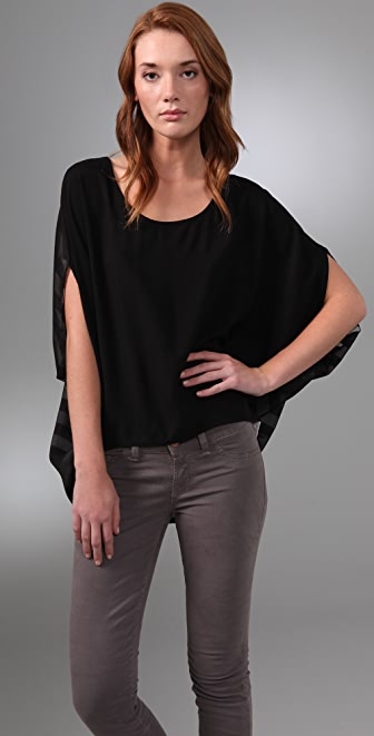 MINKPINK Parallel Lines Top