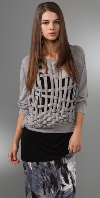 MINKPINK Basket Case Sweatshirt