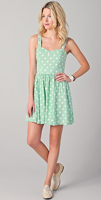 MINKPINK Peppermint Pattie Dress