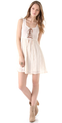 MINKPINK Virtue Lost Laced Dress