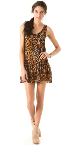 MINKPINK Eye Of The Tiger Dress