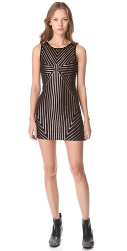 MINKPINK Vanishing Point Dress