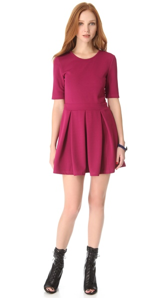 MINKPINK Pleat To Meet You Dress