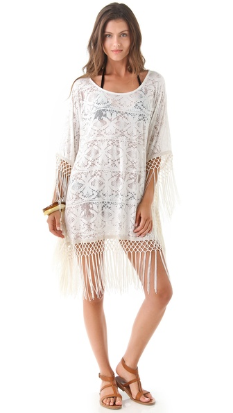 MINKPINK Magic Eye Tassel Cover Up Dress