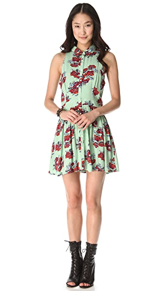 MINKPINK Bad Romance Shirtdress