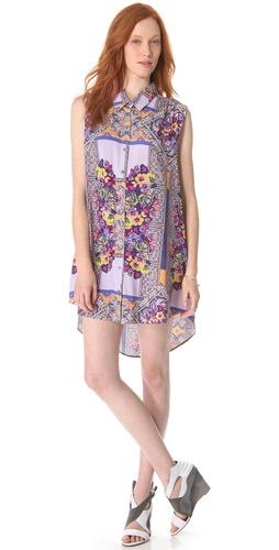 MINKPINK Distant Traveler Tunic Dress