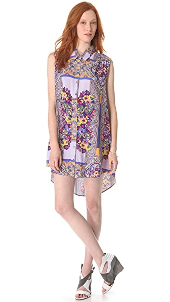 MINKPINK Distant Traveler Tunic Dress