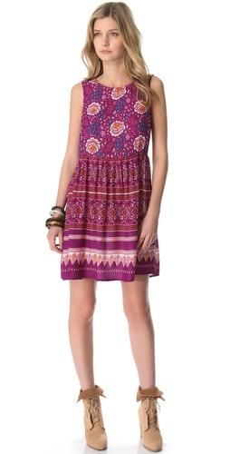 MINKPINK Bohemian Mini Dress