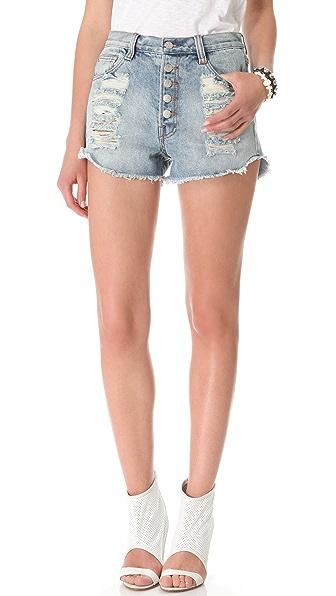 MINKPINK Exposed Slasher Flick Shorts