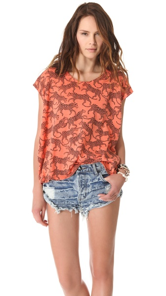 MINKPINK Jungle Puzzle Tee