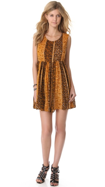 MINKPINK Fair Game Dress