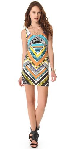 MINKPINK Carpet Ride Mini Dress