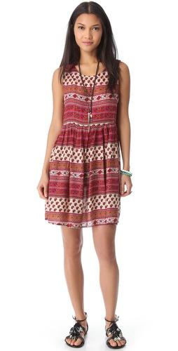 MINKPINK Maya Mini Cover Up Dress