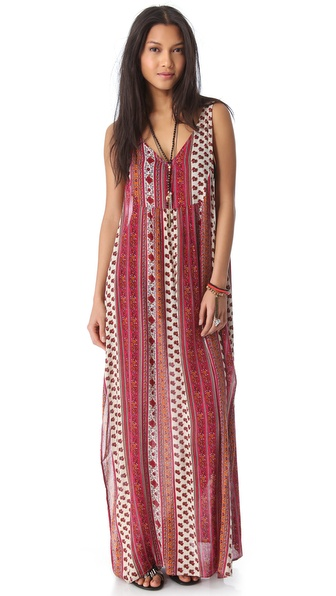 MINKPINK Maya Cover Up Maxi Dress