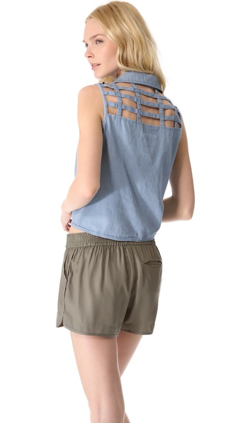 MINKPINK Toto Sleeveless Shirt