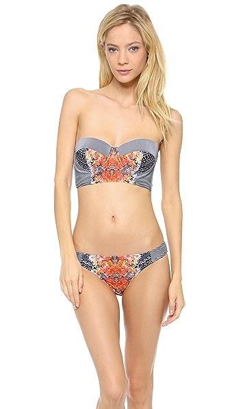 MINKPINK Reflections Bustier Bikini Top
