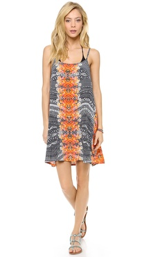 MINKPINK Reflections Mini Cover Up Dress