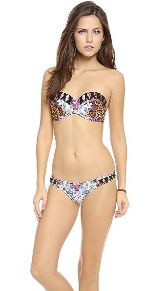 MINKPINK Animal Fleur Underwire Bikini Top