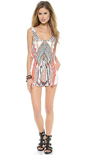 MINKPINK Temple Playsuit
