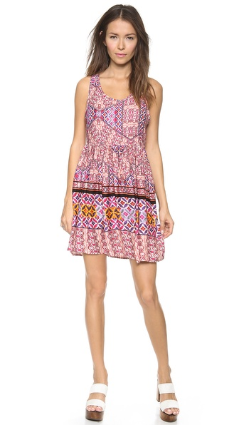 MINKPINK Watercolor Tiles Dress
