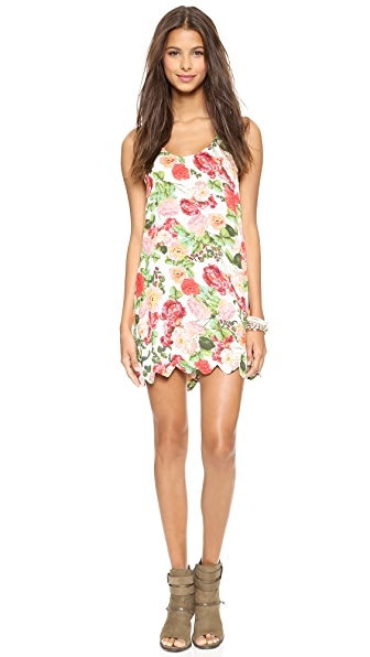 MINKPINK Wild Roses Cover Up Dress