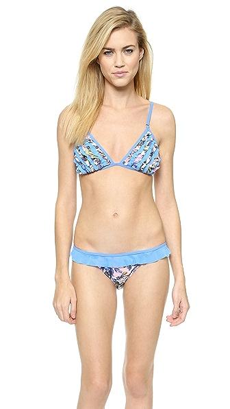 Minkpink Lucid Flowers Bikini Top - Multi