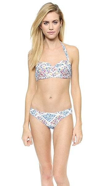 Minkpink Placement Floral Bikini Top - Multi