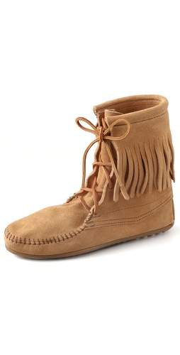 Minnetonka Tramper Flat Booties