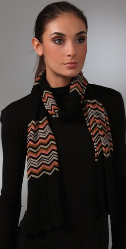 Missoni Zig Block Scarf