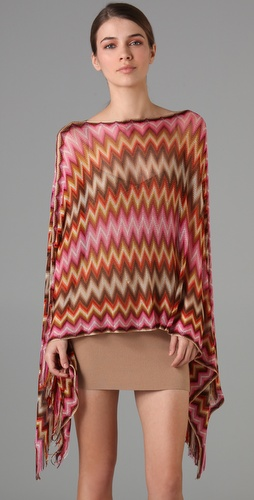 Missoni Zigzag Poncho