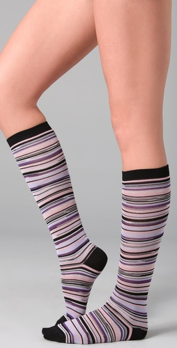 Missoni Striped Knee Socks
