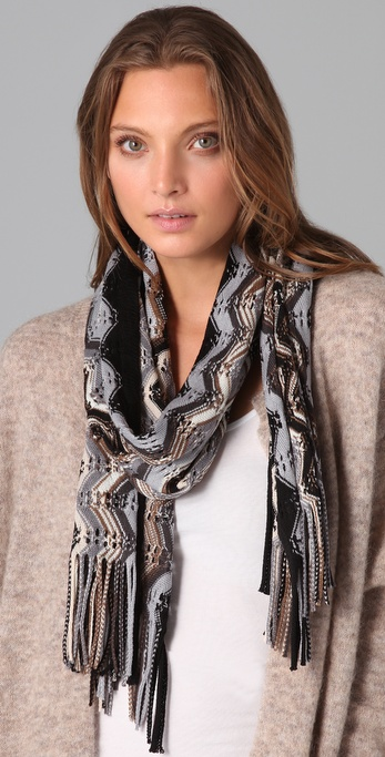 Missoni Multi Wave Scarf