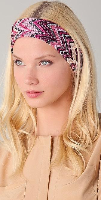 Missoni Zigzag Headband