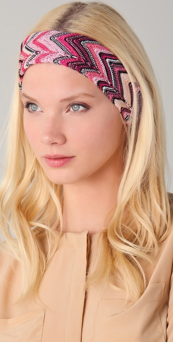 Missoni Zigzag Headband