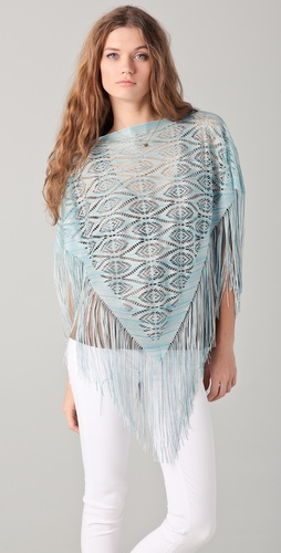 Missoni Fringe Poncho