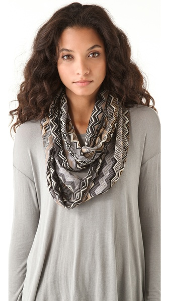 Missoni Infinity Zigzag Scarf