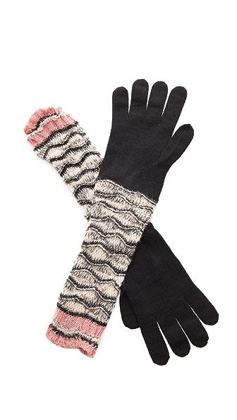 Missoni Wave Gloves