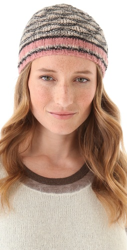 Shop Missoni Wave Cap and Missoni online - Accessories,Womens,Cold_Weather,Hats, online Store