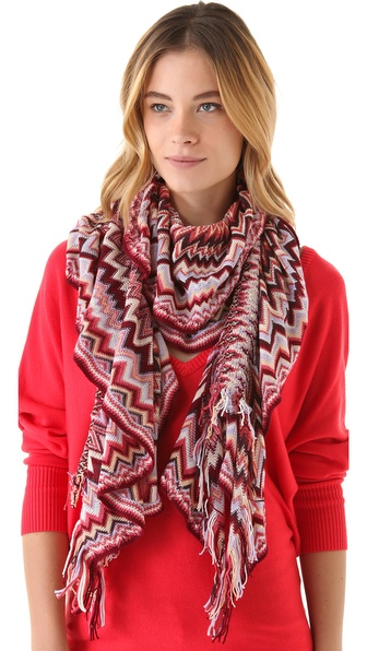 Missoni Wool Ruffle Scarf