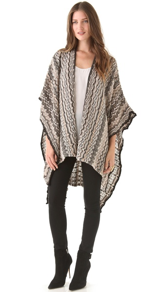Missoni Printed Cape