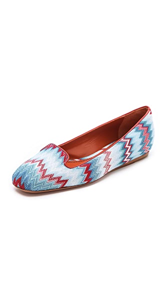 Missoni Square Top Flats