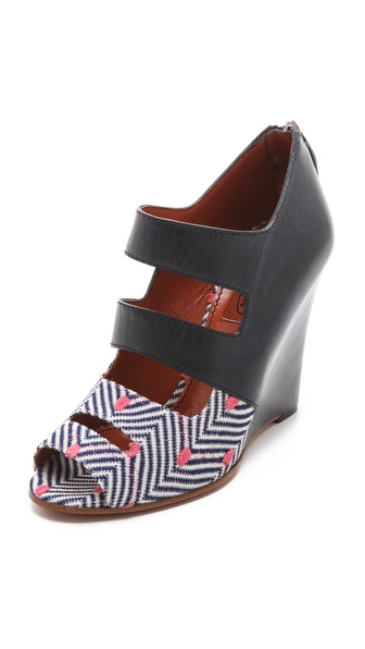 Missoni Peep Toe Wedges