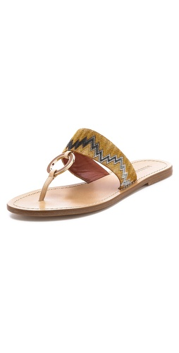 Missoni Flat Sandals at Shopbop.com