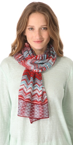 Missoni Mixed Print Scarf at Shopbop.com
