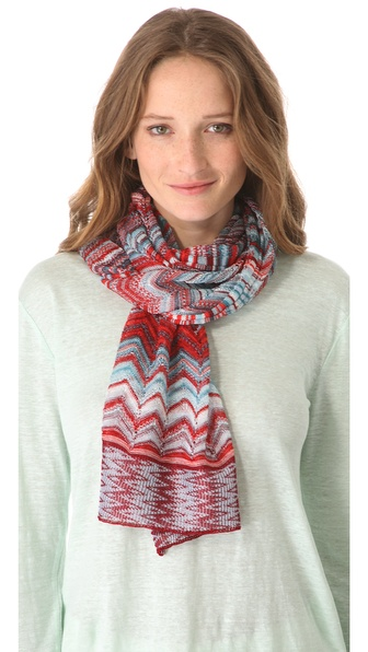 Missoni Mixed Print Scarf