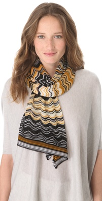 Missoni Wave Print Stole