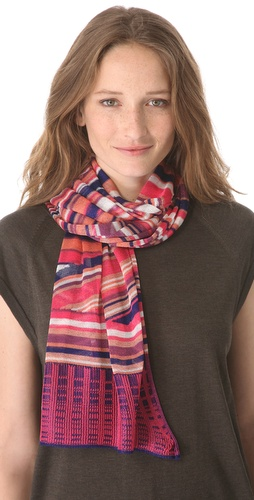 Missoni Geometric Print Scarf at Shopbop.com